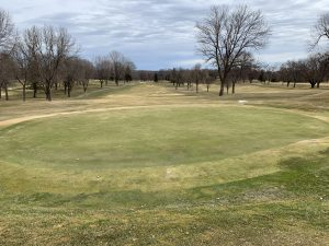 Bentgrass fared very well over the winter and 18 green shows that along with some poor poa spots.